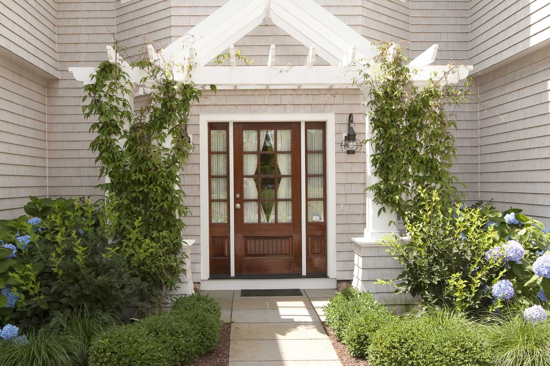 Family Cottage Entrance