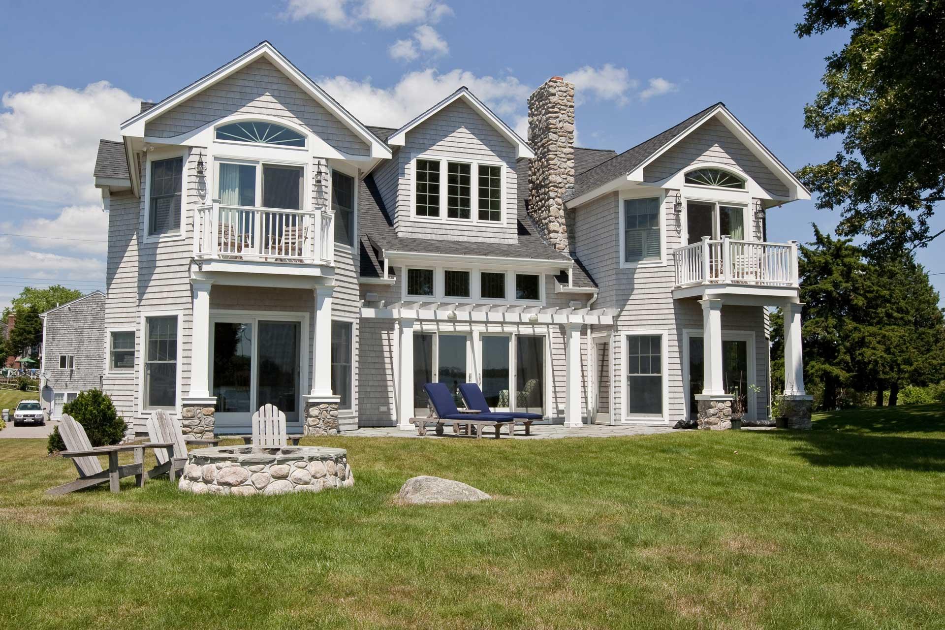 Family Cottage Backyard