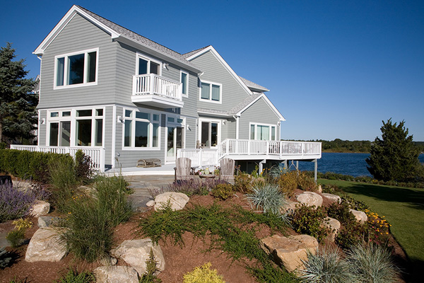 House on a Breezy point