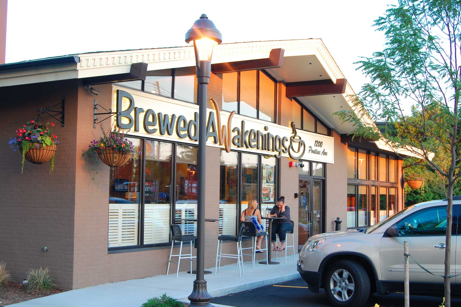 Brewed Awakenings Cranston outer view