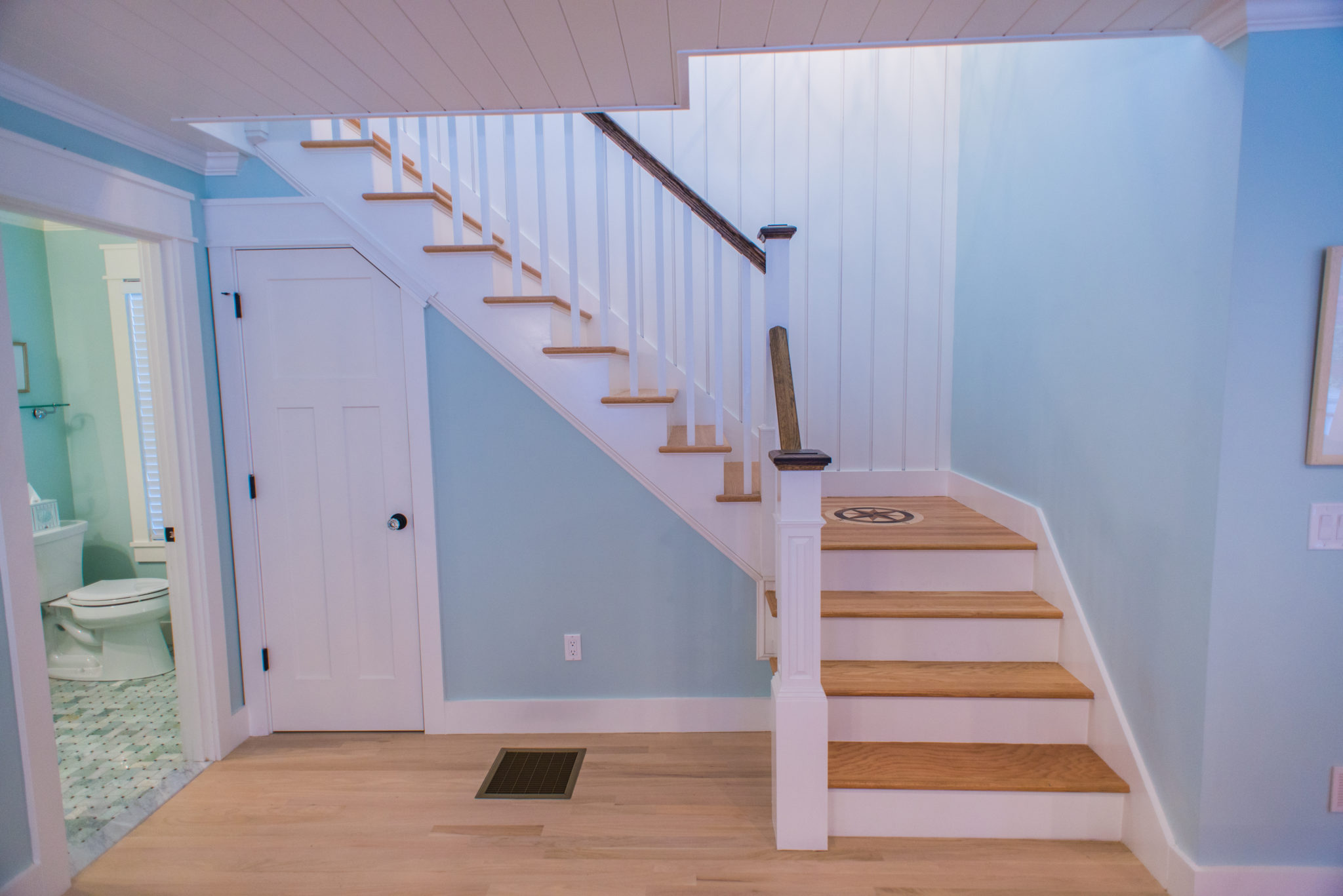 Caswell Cottage Staircase